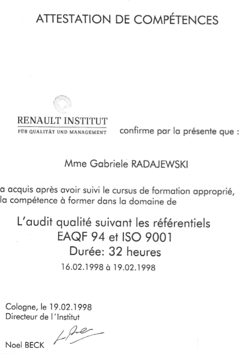 Attestation competence